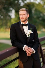 Weddings by Design and The Tux Shop offers a wide selection of options for your bridal party.