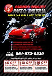 Aaron's Quality Auto Detail - Auto Detailing, Car Wash