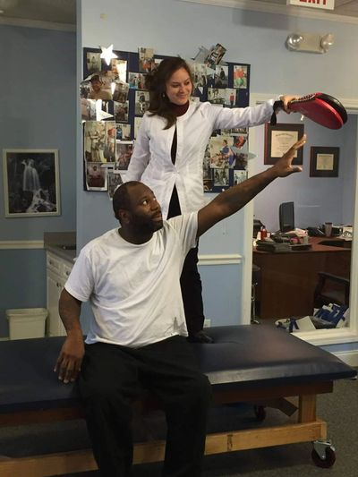 sitting balance training  first step recovery model Steps physical therapy