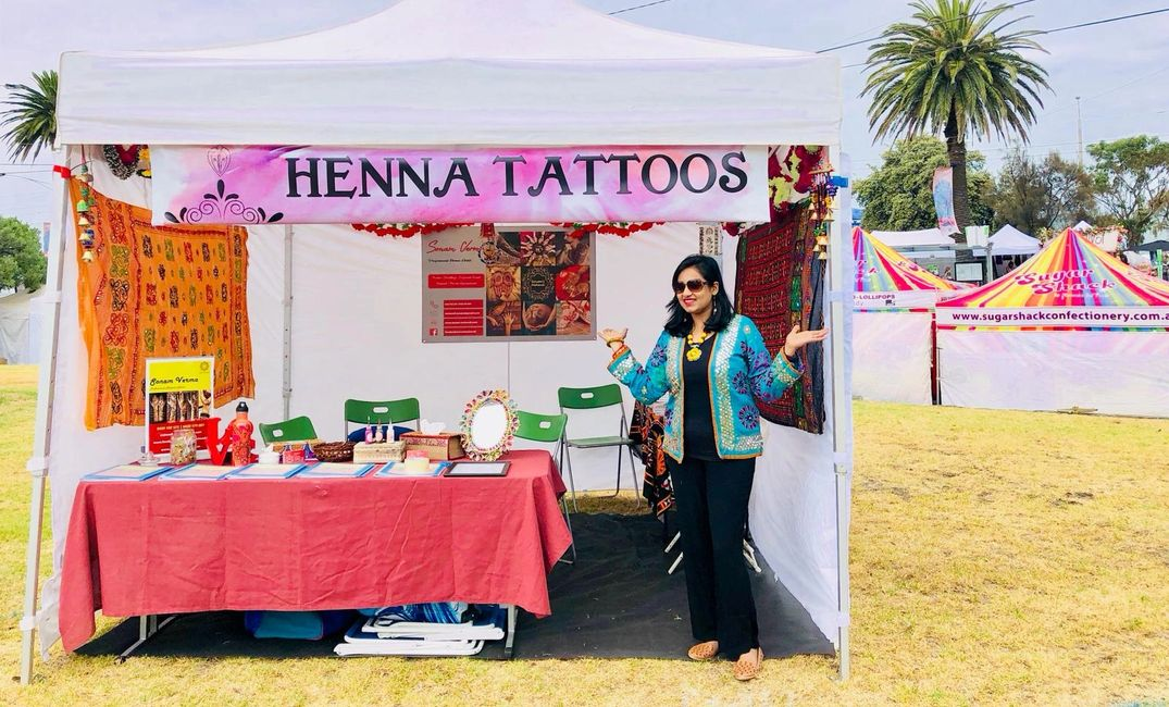 Sonam's Mehendi #besthennainmelbourne #weddinghenna #eventhenna