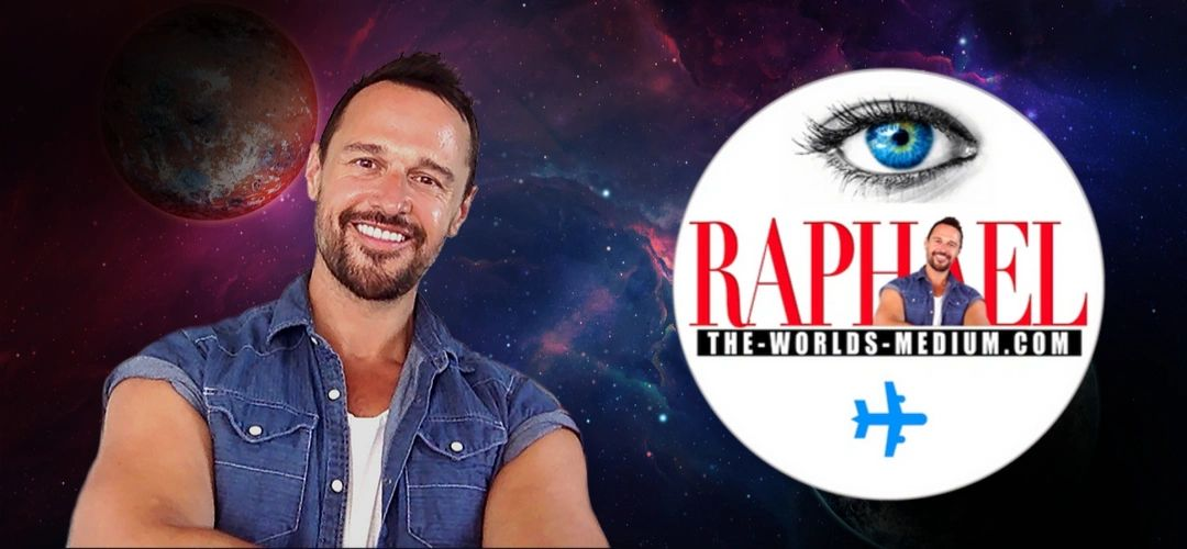 Raphael The Worlds Medium celebrity Clairvoyant Medium as seen on TV  www.The-Worlds-Medium.com
