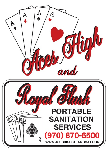 Aces High and Royal Flush Steamboat Springs, CO