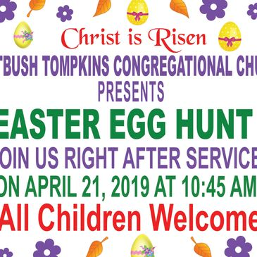 We have prepared an exiting time for the children at our Easter Egg Hunt on the lawns of our campus