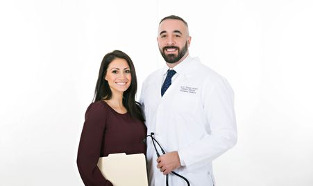 Dr Brophy and Brittany Brophy