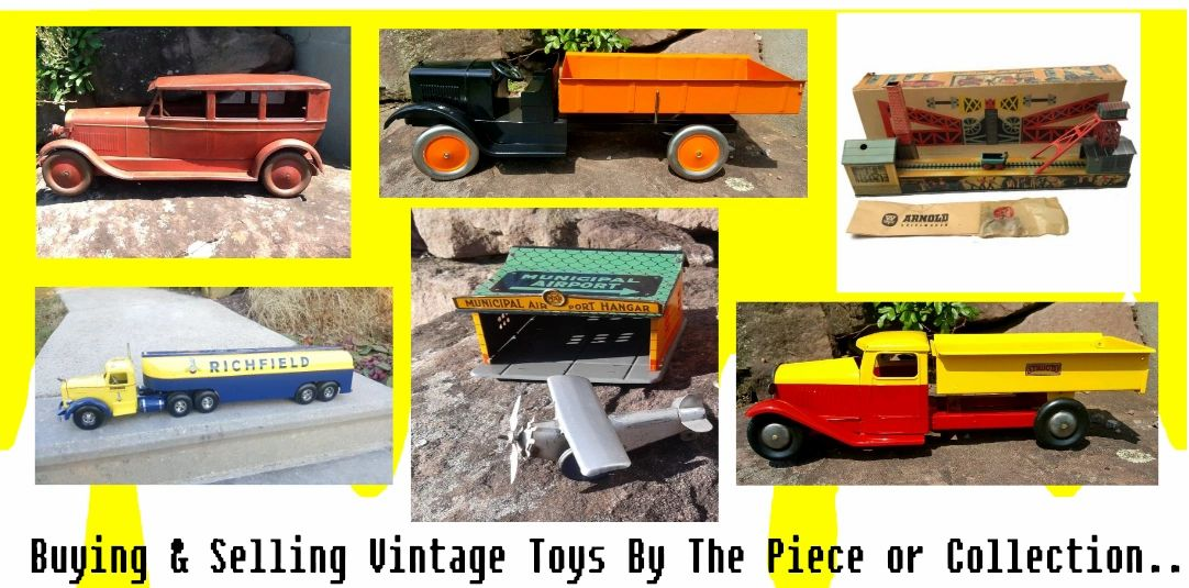 Buying & Selling vintage toys and collectibles.