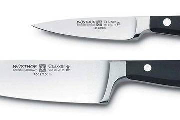 Best knives Wustoff chef's knife and paring knife