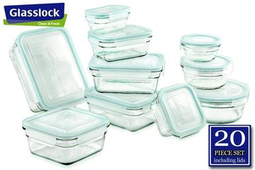 glasslock glass food storage container collection