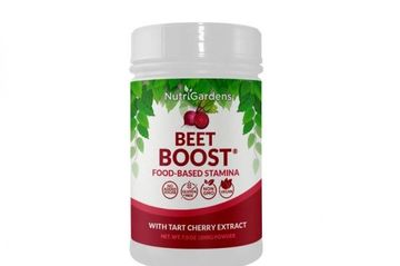 Beet Boost supplement for stamina, athletic performance, recovery.