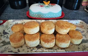Gluten Free vegetarian biscuits Caroline'Easy Baking Lessons