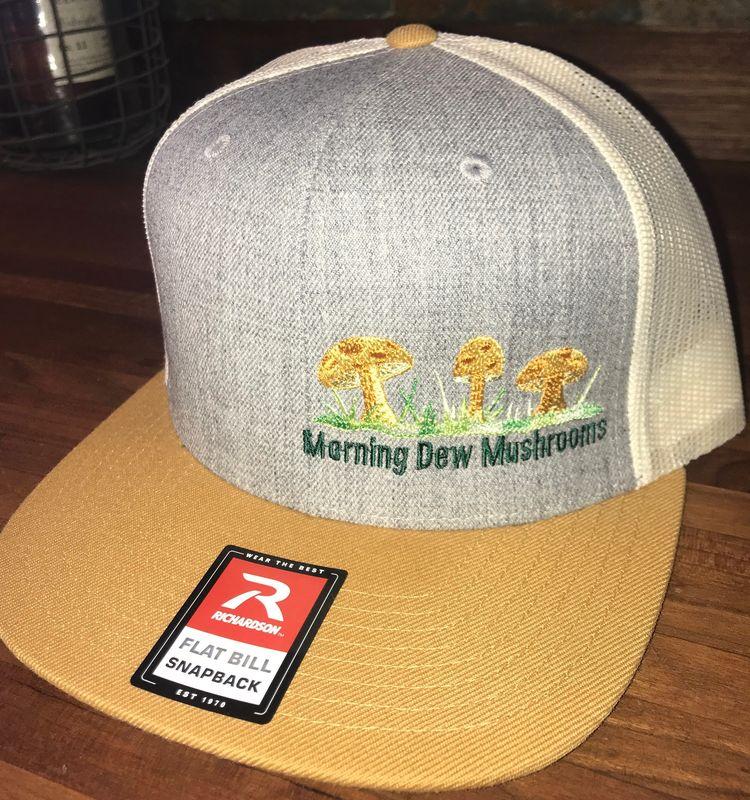 Morning Dew Snapback trucker hat