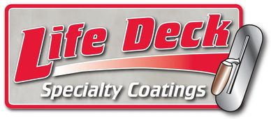 Life Deck decorative coatings, concrete stains, epoxy flooring and waterproofing