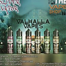 Valhalla Vapes is but one of our favored lines; along with Lemon Twist, Sammie's Sweets, and Ultra.