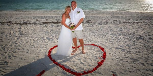 Pastor Heath Weddings, Beach Weddings, Florida Beach Wedding, Elopement, Tampa Bay Area, Officiant,