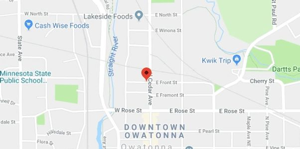 Directions to Renovo Financial Partners office in Owatonna, MN.