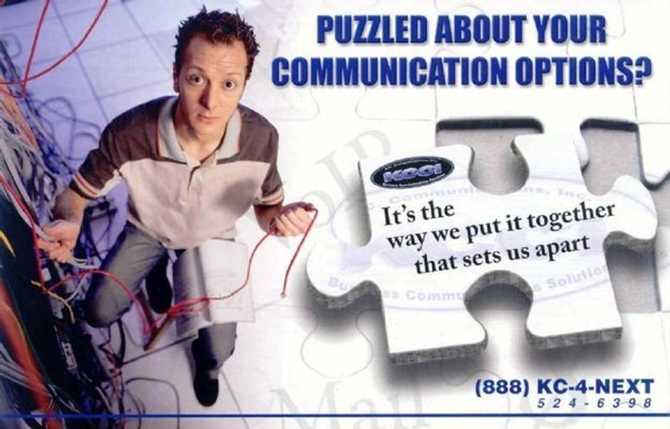 Puzzled About Your Technical Support Options? Call KCCi, Because Business is on the Line!