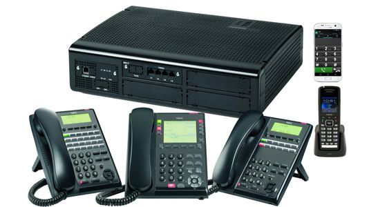 NEC SL2100 PBX Telephone System mobility Auto-Attendant SIP VoIP UC Presence Unified Messaging IPPBX