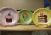 Add a commemorative plate for your party guests to sign as a special momento of the day.