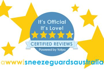 our five star sneeze guard reviews for the perspex screens sold online in our sneeze screen shop