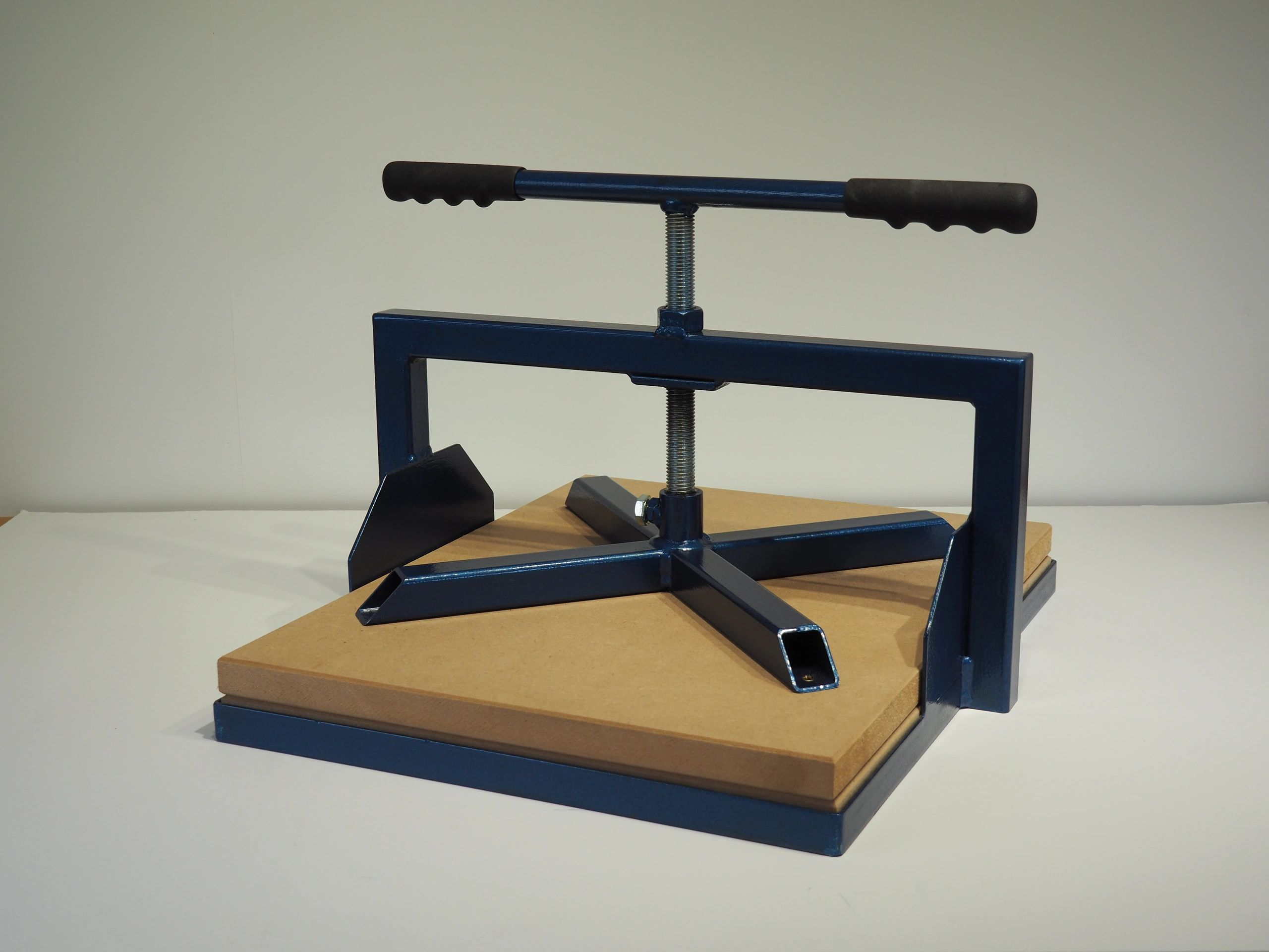 Blue Boy Portable Relief Printing Press for use with lino and woodcuts