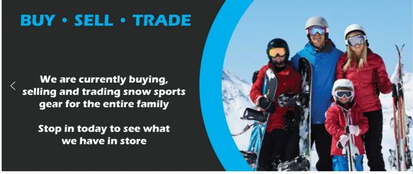 Buy, Sell, trade new and used equipment, snowboarding, ski, goggles,