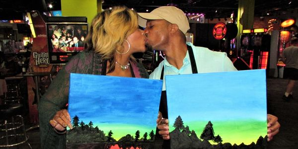 Eat Drink Paint is Amazing FUN: Food, Drinks, Social Painting and FUN in your Favorite Local Venues