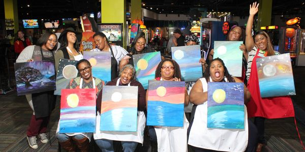 Eat Drink Paint is Amazing FUN: Food, Drinks, Social Painting in Your Favorite Venues