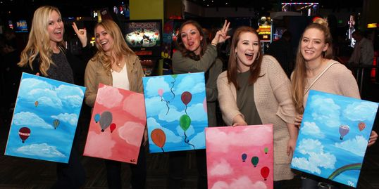 Celebrate 2 Years of FUN with Eat Drink Paint: Food, Drinks, Painting and YOU in Cincinnati, Ohio