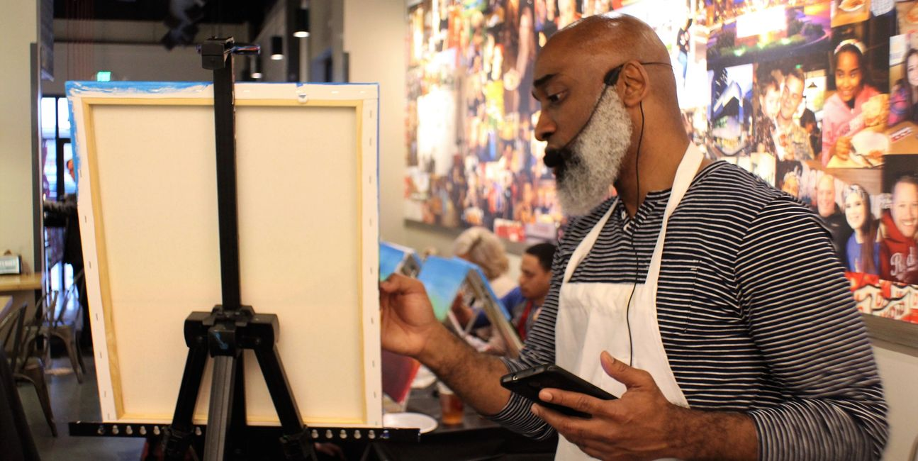 Eat Drink Paint is Amazing FUN: Food, Drinks and Social Painting at your Favorite Venues