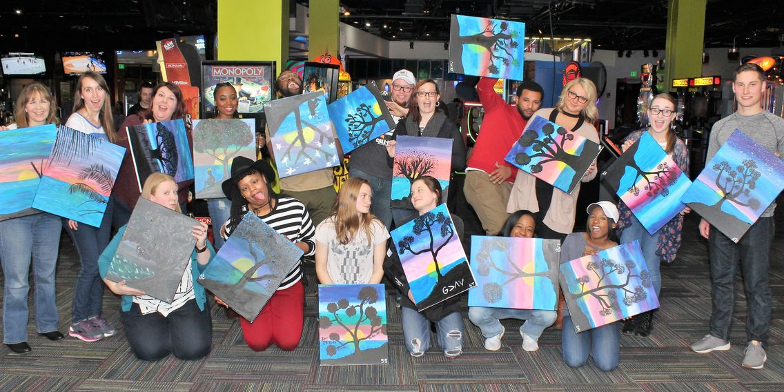 Party Like a PaintSTAR at Eat Drink Paint: Food, Drinks, Social Painting, Fun and YOU!
