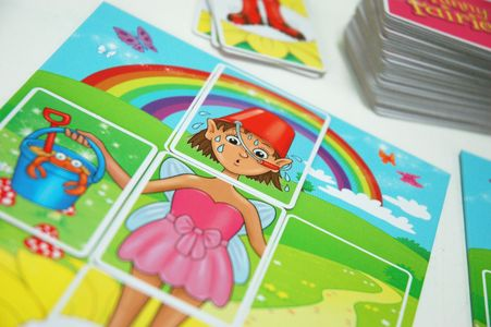 Funny Fairies is a bright and engaging children's board game!