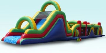 Obstacle Course, Bounce House, Event Planning, Party Rentals, Charlotte, NC