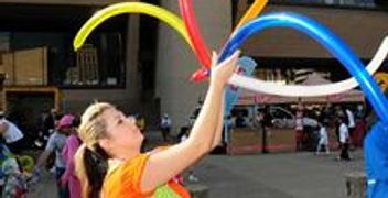 Balloon Twister, Event Planning, Party Rentals, Charlotte, NC