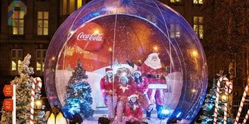 Interactive Snow Globe, Event Planning, Party Rentals, Charlotte, NC