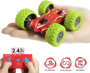 The newest, double-sided, four-wheel-drive, off-road, ultra-performance 2.4GHz RC car is easy
