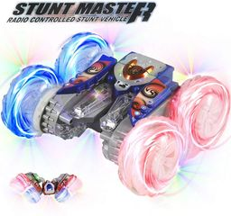 HAK104 Stunt Master V-shaped body and  off-road vertical split  performs 360° spins for ages 3+