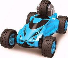HAK123 5 Wheeled X-Terrain stunt car that acrobatic action entertainment.truck performs 360° spins