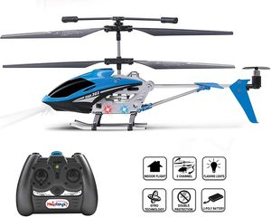 Haktoys HAK303 Infrared Control 3.5 Channel 9'' RC Helicopter with Gyroscope Stabilization