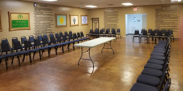 Main Meeting Room at Recovery Central 2018