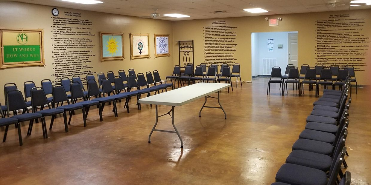 Big Meeting Room at Recovery Central 1305 W Markham St Little Rock, AR  72201