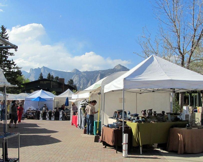 Estes Park Art Market Colorado Artist Tour