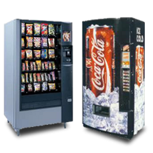 Snack vending machine, cold drink vending machine