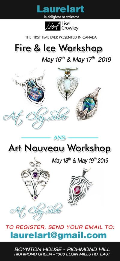 Send your email to laurelart@gmail.com to register.