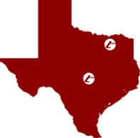 Tyrosys has two locations in Texas, Bonham and Georgetown.