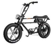 The AddMotor MOTAN M70 is an all-purpose electric cruiser bike.  The natural upright riding position
