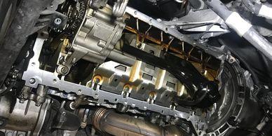 n54 oil pan leak
