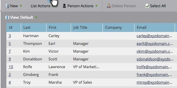 Rudy Parker: Marketing automation and email segmentation 'smart lists' in Marketo