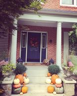 #outdoordecor #falldecor #pumpkins #gourds #dishinwithdebs