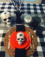 #halloweentablescape #halloweendecor #creepydecor #halloweentable #dishinwithdebs