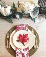 #falltablescape #falldecor #forthehome #dishinwithdebs