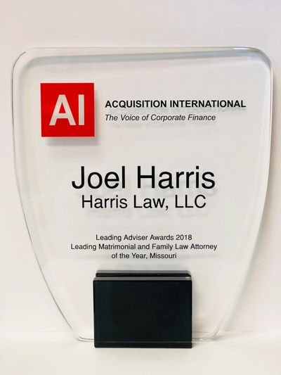 AI Magazine has recognized Joel Harris as the Top Family Law Attorney for the State of Missouri.